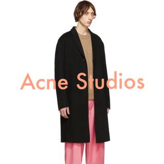 アクネ(ACNE)のacne studios 18aw chad カシミア混 44 美品(チェスターコート)