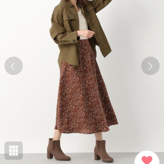 LEPSIM(レプシィム)のガラアソートAラインスカート/LEPSIM レディースのスカート(ロングスカート)の商品写真