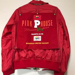 ピンクハウス(PINK HOUSE)のピンクハウス  ゼッケン付きリバーシブルブルゾン スカジャン (ブルゾン)