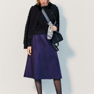 Drawer - 美品 ウールラップスカート 19AW
