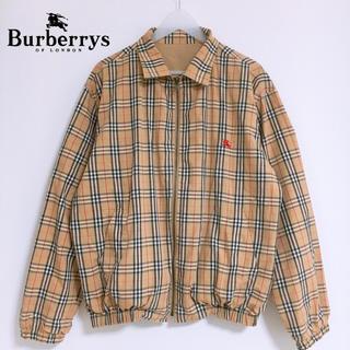 BURBERRY - 【超激レア】バーバリー リバーシブル スウィングトップ ノバチェック