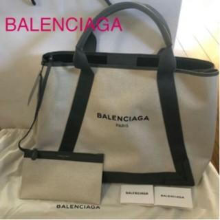 BALENCIAGA BAG - BALENCIAGA新品カバスM グレー トートバッグ