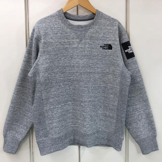 THE NORTH FACE - 新品同様!THE NORTH FACE SQUARE LOGO CREW(S)