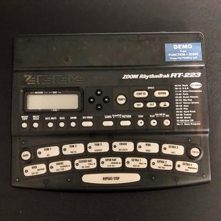 ズーム(Zoom)のZoom RhythmTrak RT-223(音源モジュール)