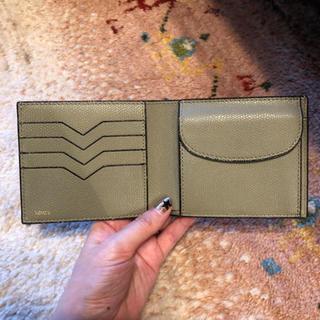 ヴァレクストラ(Valextra)の最終価格 valextra ヴァレクストラ 二つ折り財布(折り財布)
