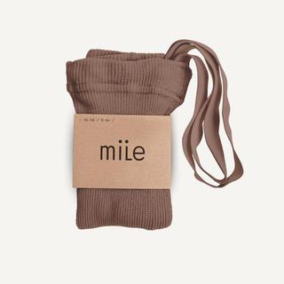 Caramel baby&child  - mile ブレース付き タイツ ヘーゼルナッツ 6-12m