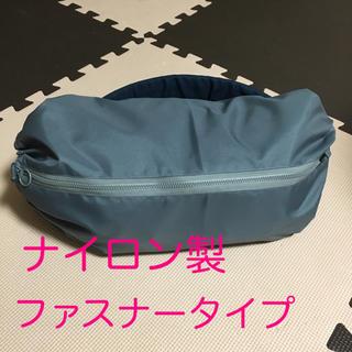 ナイロン製 グレー ファスナータイプ  抱っこ紐収納カバー(外出用品)