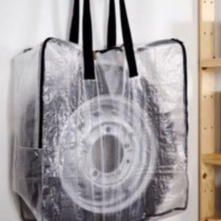 IKEA - スピード発送⭐新品未使用☆IKEA DIMPA ディムパ 収納バッグ 透明