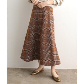 IENA - ヴィンテージツイードスカート