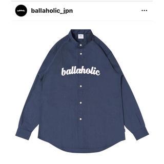 ballaholic ボーラホリック シャツ L ネイビー