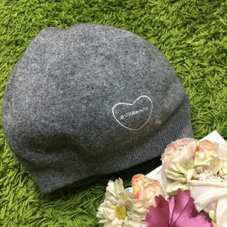 BURBERRY BLUE LABEL - burberryバーバリー❤︎レディニット帽
