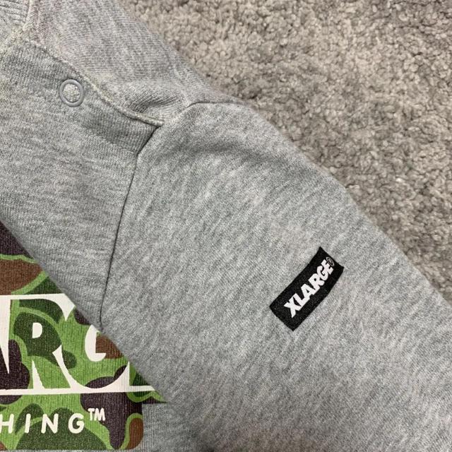 XLARGE(エクストララージ)のxlarge トレーナー 90 キッズ/ベビー/マタニティのキッズ服男の子用(90cm~)(Tシャツ/カットソー)の商品写真