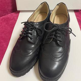 マーキュリーデュオ(MERCURYDUO)のMERCURYDOU オックスフォードシューズ(ローファー/革靴)