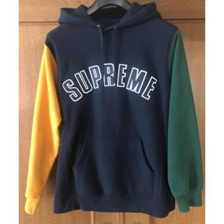 Supreme - Supreme Color Blocked Arc Logo Hooded