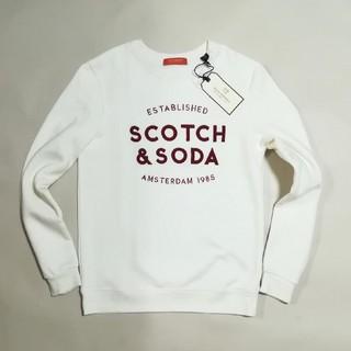 スコッチアンドソーダ(SCOTCH & SODA)のばーとんさん専4/3 新品 SCOTCH&SODA  トレーナー(スウェット)