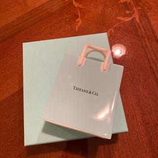 ティファニー(Tiffany & Co.)のティファニー ショッピングバック 陶器製 花瓶 小物入れ(その他)