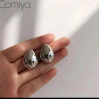 TODAYFUL - 大人気なため再入荷!tear drop ring silver925 ピアス