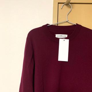 マルタンマルジェラ(Maison Martin Margiela)の新品 定番 マルジェラ ニット セーター mm6 エルボーパッチ(ニット/セーター)