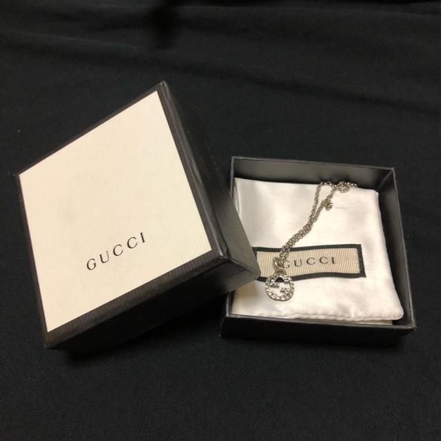 Gucci(グッチ)のGUCCI インターロッキング ネックレス Sサイズ メンズのアクセサリー(ネックレス)の商品写真