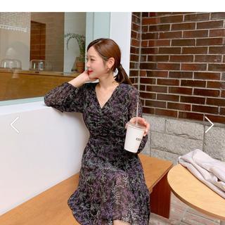 dholic - ワンピース  韓国ファッション ロングワンピース  ディーホリック