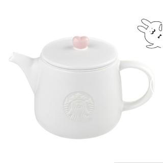 Starbucks Coffee - 韓国スタバ★ ラブリーハートティーポット