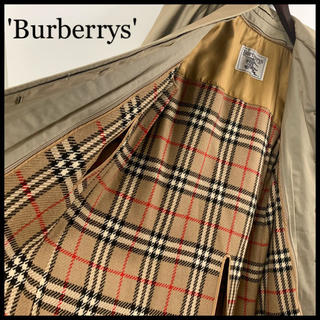 BURBERRY - BURBERRY バーバリー ステンカラーコート ライナー付属 クリーニング済み