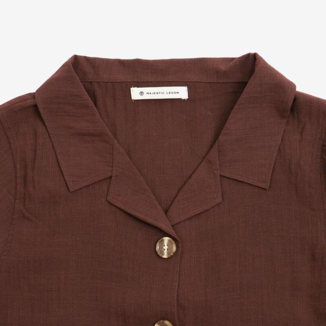 MAJESTIC LEGON(マジェスティックレゴン)のシャツ レディースのトップス(シャツ/ブラウス(長袖/七分))の商品写真