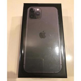 iPhone - SIMフリー iPhone 11 Pro 256GB★新品★黒スペースグレイ