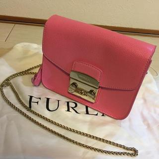 Furla - 美品✨FURLA メトロポリス ショルダーバッグ ピンク