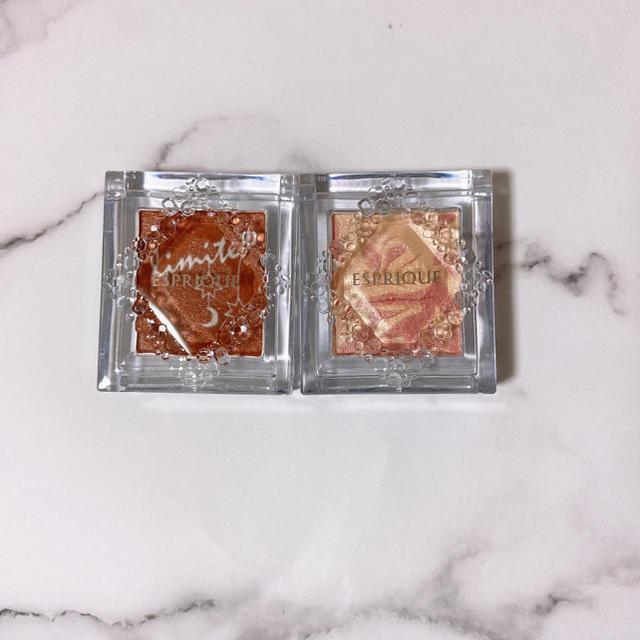 ESPRIQUE(エスプリーク)のエスプリーク  セレクト アイカラー RD401 PK809 コスメ/美容のベースメイク/化粧品(アイシャドウ)の商品写真