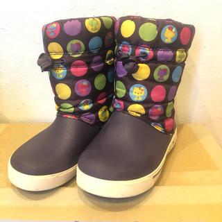 crocs - ハローキティコラボ クロックス ブーツ