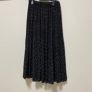 LOWRYS FARM - ドットプリーツスカート
