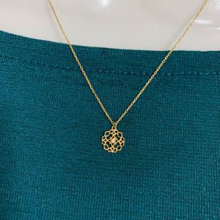 agete - K10 ダイヤモンド ネックレス ★約40cm ★10金 アガット