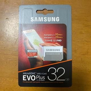 サムスン(SAMSUNG)のmicroSDHC EVO Plus 32GB class10(その他)