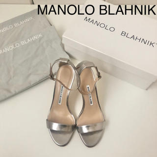 MANOLO BLAHNIK - 新品未使用 ★ マノロブラニク カオス ストラップサンダル