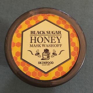 SKIN FOOD - スキンフード ブラックシュガー ハニー マスク ウォッシュオフ skinfood