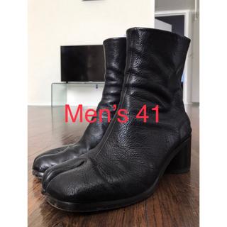 Maison Martin Margiela - 激シボ Maison Margiela 足袋ブーツ マルジェラ タビ 6cm