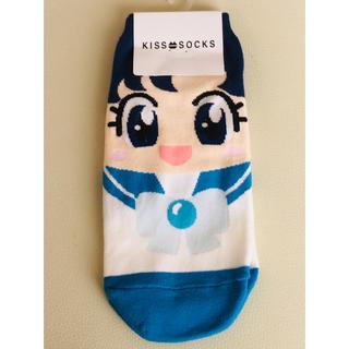 セーラームーン - 新品未使用 セーラームーン靴下 セーラーマーキュリー 水野亜美     ちびうさ