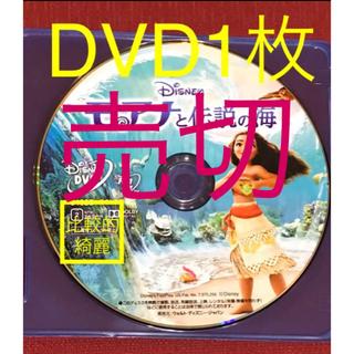 Disney - モアナと伝説の海 DVD1枚