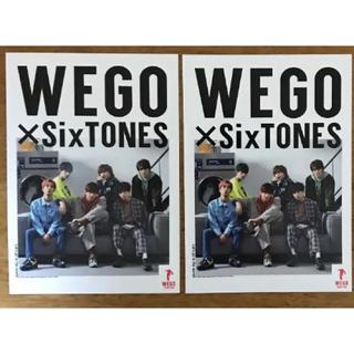 Johnny's - WEGO×SixTONES コラボポストカード 2枚セット