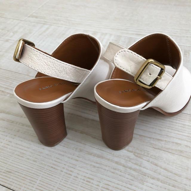 FABIO RUSCONI(ファビオルスコーニ)の【新品・未使用】FABIO LUSCONI 定価3万円 ヒール 革 23.5cm レディースの靴/シューズ(ハイヒール/パンプス)の商品写真