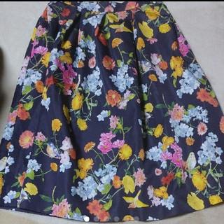 Chesty - 美品 チェスティ 小鳥花柄 スカート