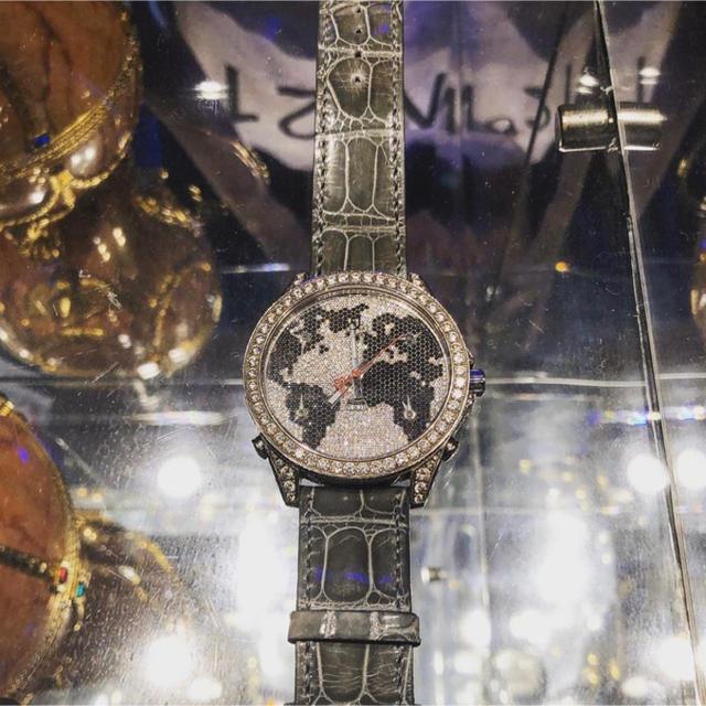 50代 時計 ロレックス - ジェイコブ Ⅴタイムゾーン フルダイヤの通販