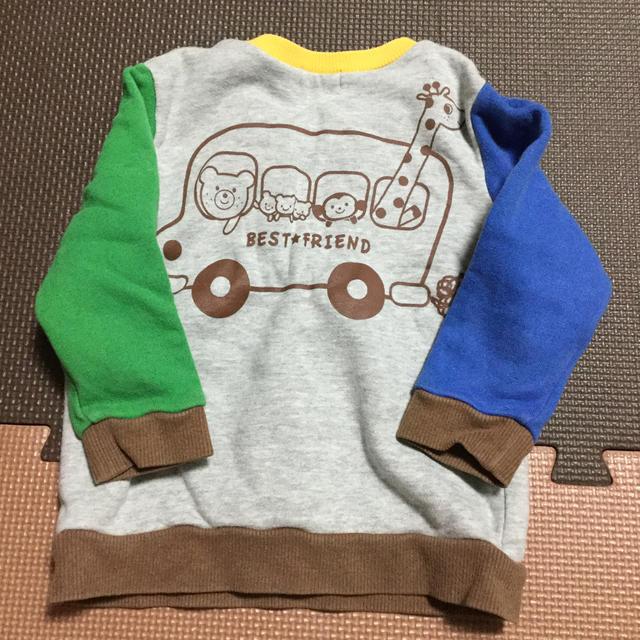 mikihouse(ミキハウス)のミキハウス トレーナー 80 キッズ/ベビー/マタニティのベビー服(~85cm)(トレーナー)の商品写真