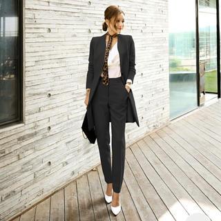カジュアルパンツスーツ ブラック(スーツ)