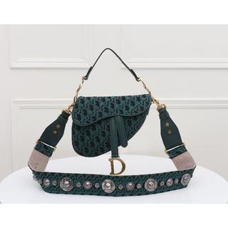 Christian Dior - クリスチャンディオール サドル バッグ モノグラム ミディアム
