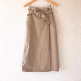 IENA SLOBE - ベージュスカート