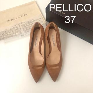 PELLICO - 美品 ★ ペリーコ アネッリ スエードパンプス 37