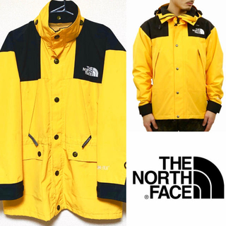 THE NORTH FACE - the north face mountain jacket イエロー 最安値