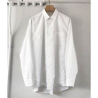 COMOLI - 美品 17ss comoli コモリシャツ ホワイト サイズ2